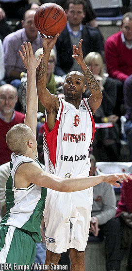 6. Ralph Biggs (Antwerp Giants)